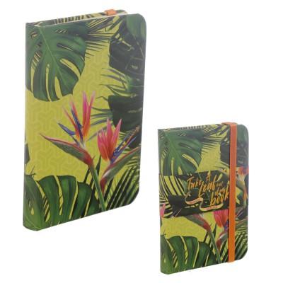 Notitieboekje model Tropische Kaasplant