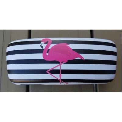 (Zonne)bril etui flamingo